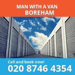 CM3 man with a van Boreham