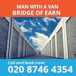 PH2 man with a van Bridge of Earn