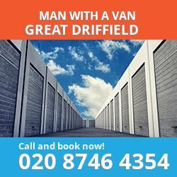 YO25 man with a van Great Driffield
