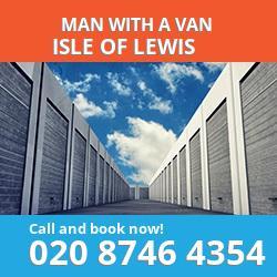 HS2 man with a van Isle Of Lewis