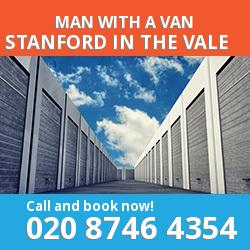 SN7 man with a van Stanford in the Vale