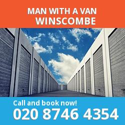 BS25 man with a van Winscombe