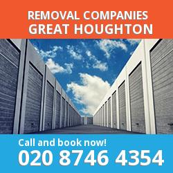 NN4 removal company  Great Houghton