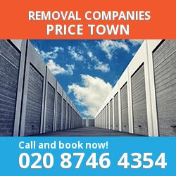 CF32 removal company  Price Town
