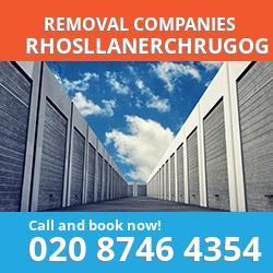 LL14 removal company  Rhosllanerchrugog