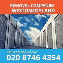 TA7 removal company  Westonzoyland