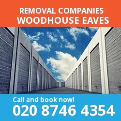LE12 removal company  Woodhouse Eaves