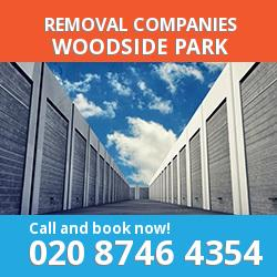 N12 removal company  Woodside Park