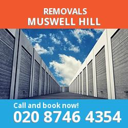 home removals N10
