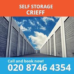 PH7 self storage in Crieff