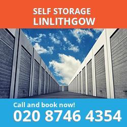 EH49 self storage in Linlithgow