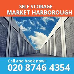 LE16 self storage in Market Harborough
