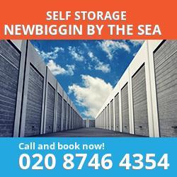 NE24 self storage in Newbiggin by the Sea