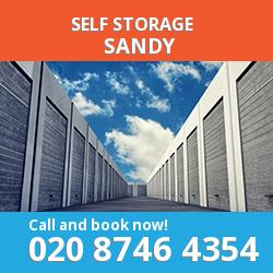 SG19 self storage in Sandy