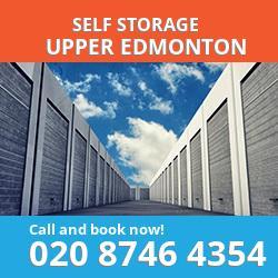 N18 self storage in Upper Edmonton