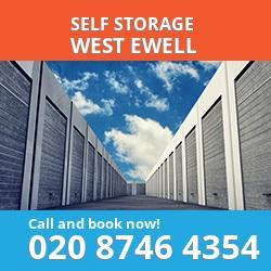 KT19 self storage in West Ewell