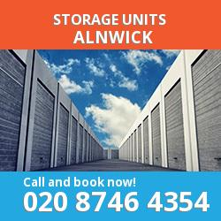 Alnwick  storage units NE66