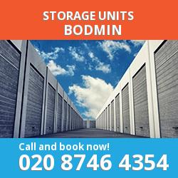 Bodmin  storage units PL31