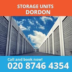 Dordon  storage units B78