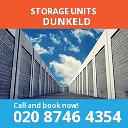 Dunkeld  storage units PH8