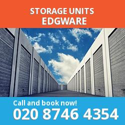 Edgware  storage units HA8