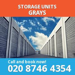 Grays  storage units RM17