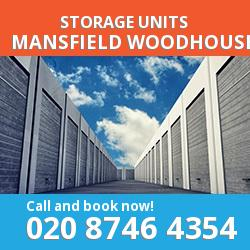 Mansfield Woodhouse  storage units NG19