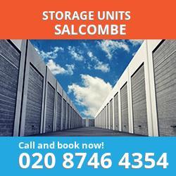 Salcombe  storage units PL4