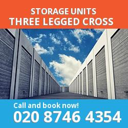 Three Legged Cross  storage units BH21