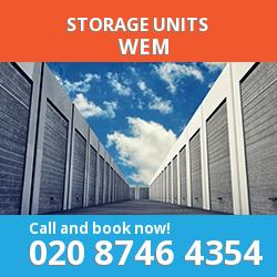 Wem  storage units SY4