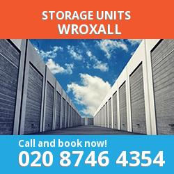 Wroxall  storage units PO38